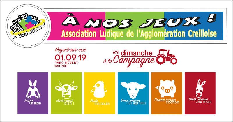 Un Dimanche à la Campagne : 1er Septembre 2019
